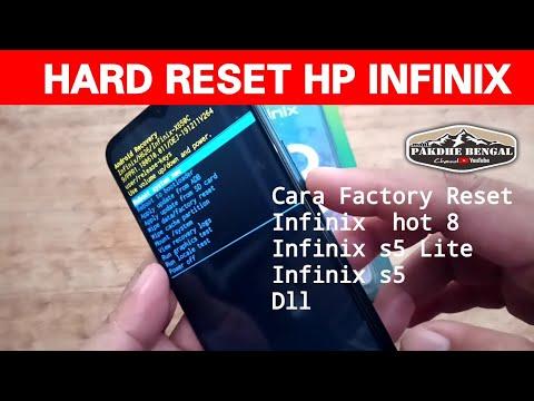 How to Hard Reset Infinix.