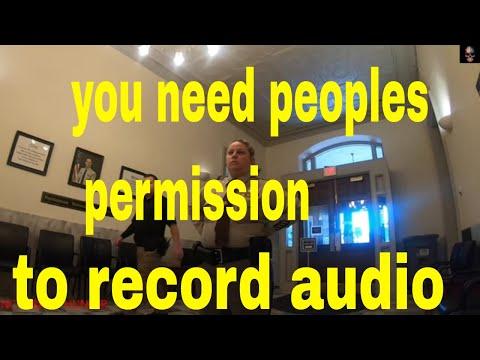 You Need Permission To Film New Hanover County North Carolina 1st Amendment Audit