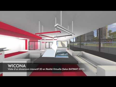 WICONA showroom VR Batimat 2015