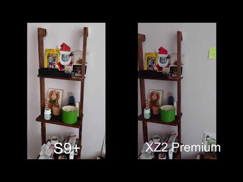 Sony Xperia XZ2 Premium Vs Samsung Galaxy S9+ Low Light Video Test