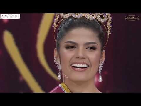 Miss Asia Pacific International 2018  Sharifa Areef Mohammad Omar Akeel Grand Coronation 2018