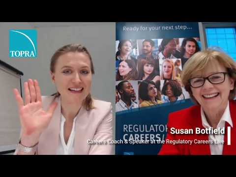 LIVE Q&A with Careers Coach Susan Botfield | Regulatory Careers Live 2018