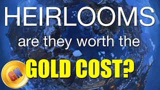 Are Heirlooms Worth the Gold Cost? Comparison of Leveling, WoW Heirlooms