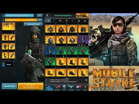 Mobile Strike -Episode 20- Holy Crap!! New Research Gear!!! Cold Fusion