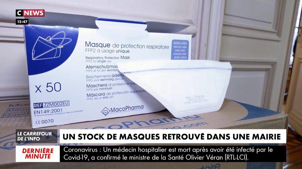 Pénurie de masques : un stock retrouvé dans le grenier d'une mairie