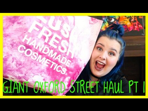 Biggest LUSH OXFORD STREET HAUL Part One!