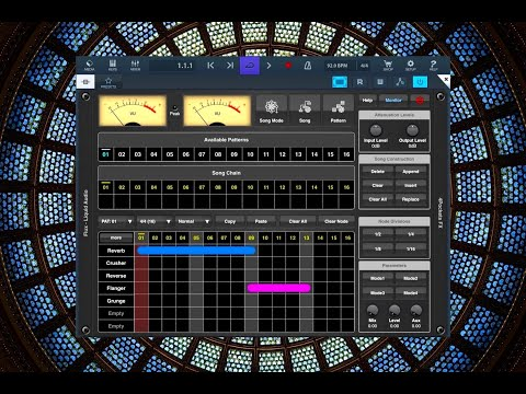 FLUX - Liquid Audio by 4Pockets - AUv3 Multi Effects - updated - 5 NEW Effects Added - iPad Demo
