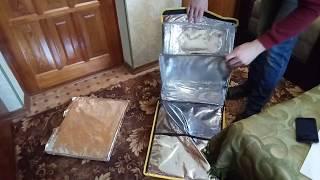 Про Glovo #1. Обзор сумки Глово её размеры, вес, косяки