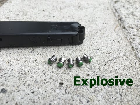 Download Youtube: Gamo PT-85 Explosive Pellets
