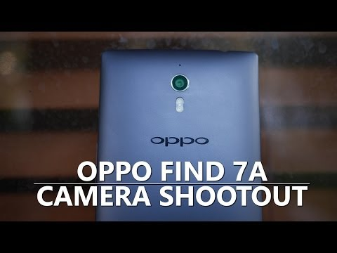 Oppo Find 7a camera shootout