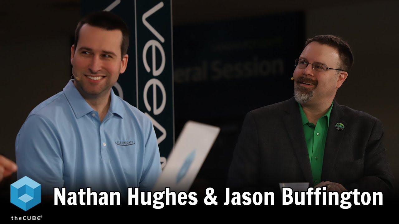 Nathan Hughes, Flex-N-Gate, & Jason Buffington, Veeam