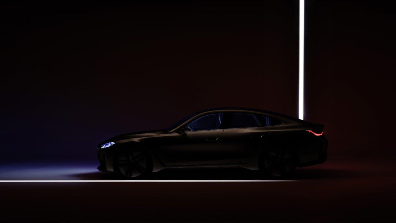 BMW Concept i4 previews next year's production EV.