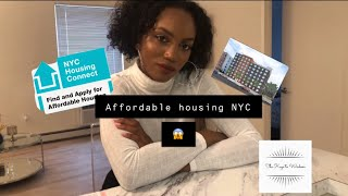 NYC AFFORDABLE HOUSING CONNECT EXPERIENCE: I WON THE LOTTERY