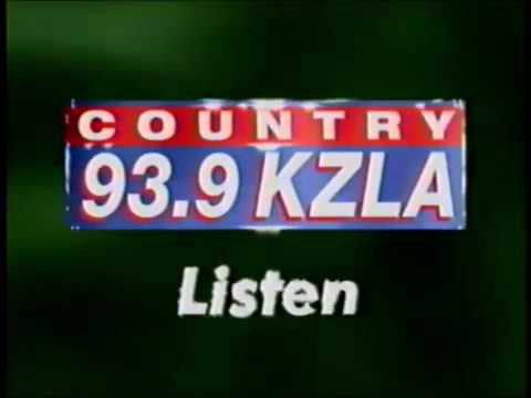 Country 93.9 - KZLA Los Angeles - TV Commercial - 2001