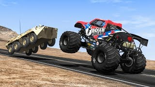 Crazy Police Chases #46 - BeamNG Drive Crashes