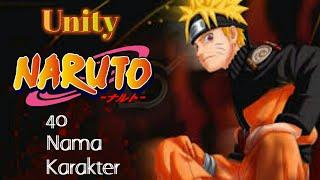 Gambar cover Parodi lagu Unity versi 40 nama karakter Naruto Cover Parody