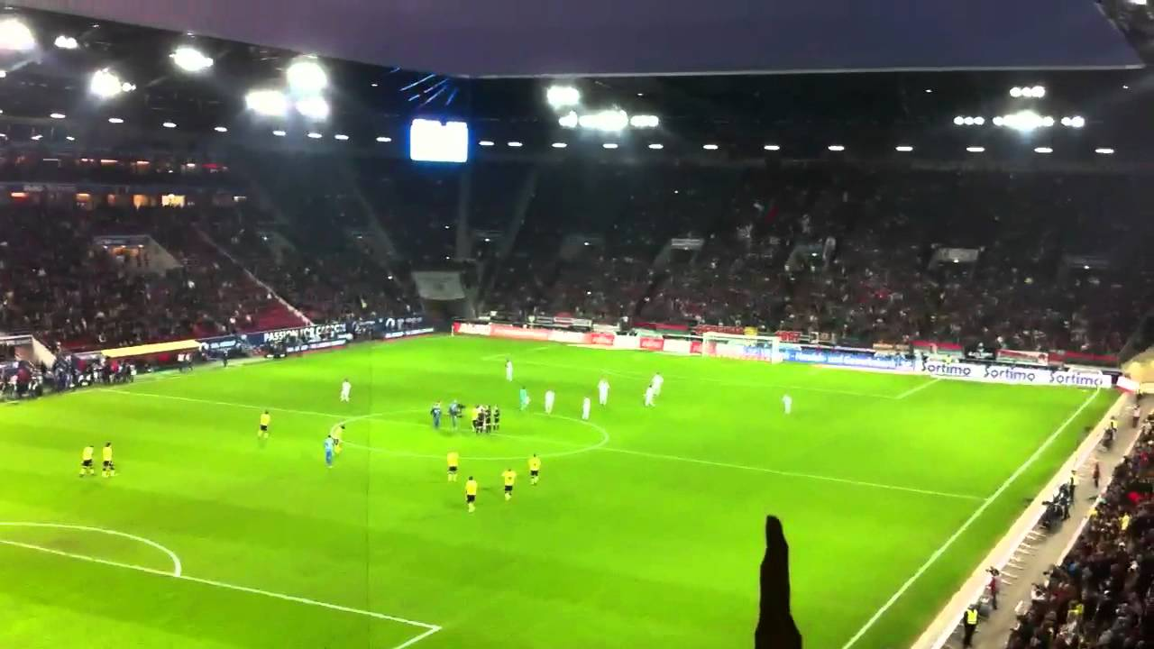 Fc Augsburg-BVB 2012