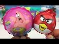 愤怒的小鸟奇趣蛋 海绵宝宝 变形警车珀利