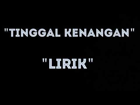 """""""TINGGAL KENANGAN"""" LIRIK (GABY / CARAMEL BAND COVER)"""