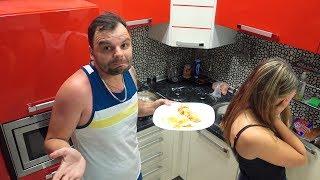 VLOG: Это ужас Лера приготовила ужин / В поезде танцует папа и дочка