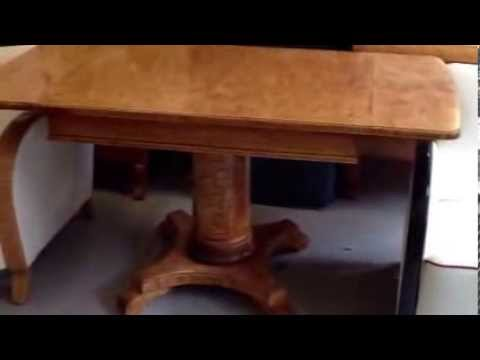 Antique Biedermeier Table TAB 5 for sale WWW.SWEDISHINTERIORDESIGN.CO.UK.
