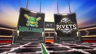 6/13/17 Madison Mallards vs Rockford Rivets