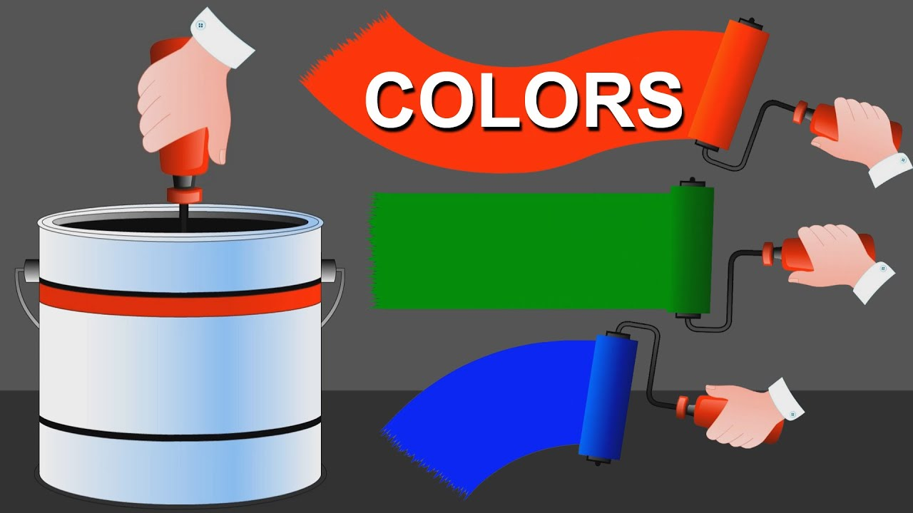 Animated Fun Learning Colors for Kids & Toddlers And Learn Colors ...