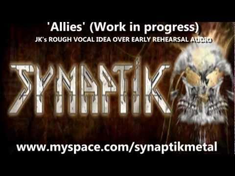 SYNAPTIK- UK METAL BAND - Rehearsal Music clips 2011 -