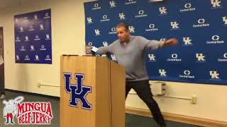 John Calipari previews Kansas