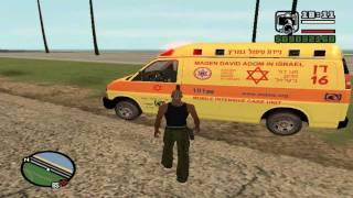 שברולט סוואנה - ניידת טיפול נמרץ GTA SA