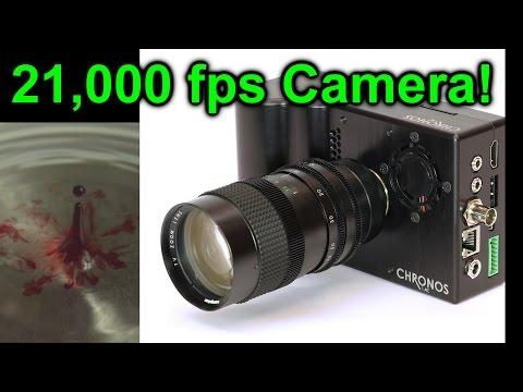 EEVblog #947 - Chronos High Speed Camera Review