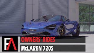 FUEL AUTOTEK Owners' Rides: 2018 McLaren 720S | Vossen M-X3 Gloss Black