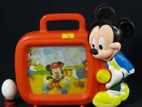 Music box mickey mouse television for kids series youtube for Mouse house music