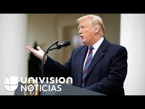 Trump dice que empleados que no cobran su sueldo debido al cierre de gobierno lo animan a no ceder