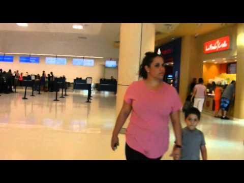 Puerto Rico - San Juan Airport - Departure Area