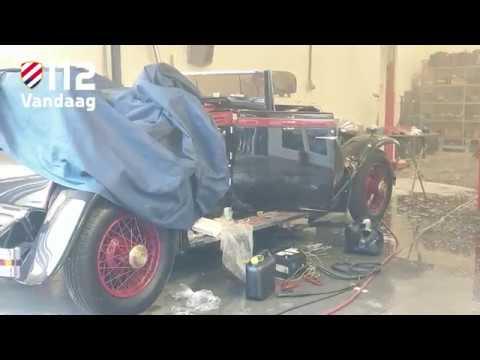 Rolls Royce van meer dan een half miljoen in brand in Vlijmen
