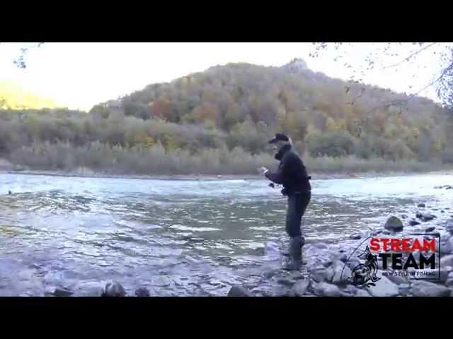 ловля форели в маленьких речках