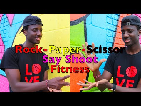 Virtual Rock Paper Scissors fitness challenge | PE at home Fitness games