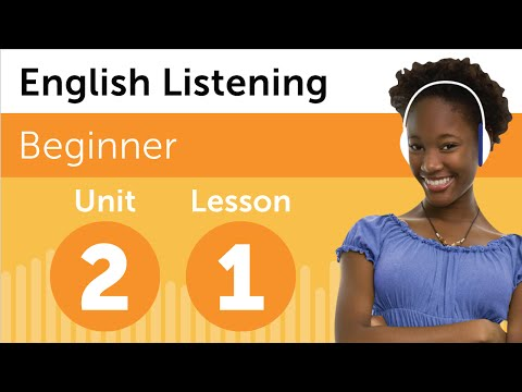 English Listening Comprehension - Getting English Directions