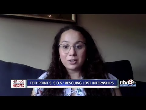 Hiring Hoosiers: TechPoint's 'S.O.S.' Rescuing Lost Internships