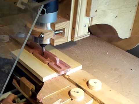 how to make a wooden chain with a router