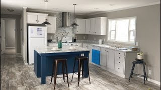 Beautiful Luxury Single Wide Mobile Home Cool Breeze 16x76 By Clayton Homes