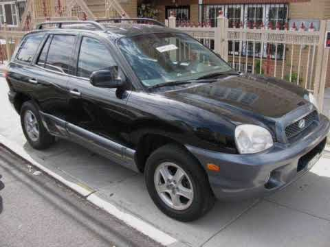 2003 hyundai santa fe lx fwd 3 5l v6 youtube. Black Bedroom Furniture Sets. Home Design Ideas