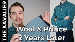 Wool and Prince Wool Dress Shirts and Underwear Review - 2 Years Later