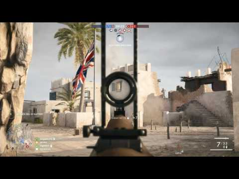 Battlefield 1 - Conquest match 101 - medic - 1080p 60fps PC - No commentary