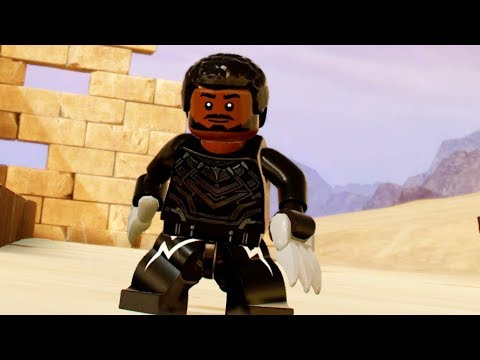Avengers Infinity War Black Panther! LEGO Marvel Superheroes 2
