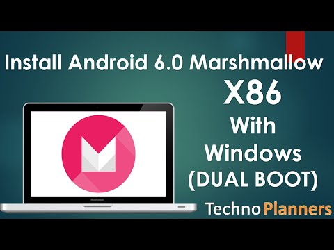 Install Android 6.0 Marshmallow OS on PC with Windows