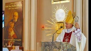 Homilia ks Biskupa Andrzeja Jeża na 50-lecie sióstr Albertynek w Grywałdzie - 11 11 2017