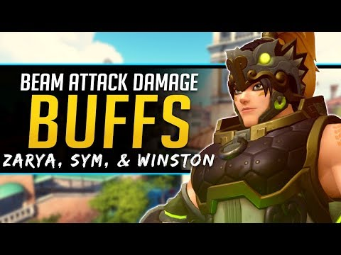 Overwatch More Damage Buffs - Zarya Winston Symmetra  - More Reaper changes?