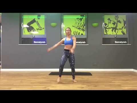Fat-burning Postnatal pilates. Home workout
